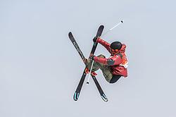 February 18, 2018 - Pyeongchang, Gangwon, South Korea - Teal Harle of Canada competing in slope style for men at phoenix park, Pyeongchang,  South Korea on Febuary 18, 2019. (Credit Image: © Ulrik Pedersen/NurPhoto via ZUMA Press)