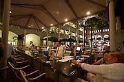 Raffles Hotel. The Courtyard Bar.