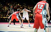 DESCRIZIONE : Championnat de France Pro A Match des champions <br /> GIOCATORE : Tsamis Angelos <br /> SQUADRA :  Limoges <br /> EVENTO : Pro A <br /> GARA : Chalon Limoges<br /> DATA : 20/09/2012<br /> CATEGORIA : Basketball France Homme<br /> SPORT : Basketball<br /> AUTORE : JF Molliere<br /> Galleria : France Basket 2012-2013 Action<br /> Fotonotizia : Championnat de France Basket Pro A<br /> Predefinita :