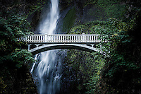 The historic bridge at Multnomah Falls in Oregon's Columbia River Gorge is a scenic stop not to miss.