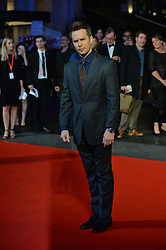 © Licensed to London News Pictures. 15/10/2017. London, UK.  SAM ROCKWELL attends the Three Billboards Outside Ebbing Missouri Film UK Premiere showing as part of the 51st BFI London Film Festival. Photo credit: Ray Tang/LNP