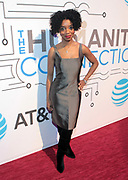 New York, NY-March 15: Actress/Vocalist Markita Prescott attends the 2018 'Humanity of Connection' Awards Ceremony powered by AT&T and held at Jazz at Lincoln Center on March 15, 2018 in New York City. (Photo by Terrence Jennings/terrencejennings.com)