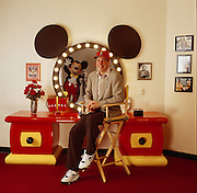 Michael Eisner, CEO of the Walt Disney Company at Walt Disney World in Orlando, Florida in Minnie Mouse's Room.