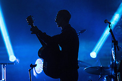 """© Licensed to London News Pictures . 14/05/2016 . Manchester , UK . RICHARD ASHCROFT performs live at the Albert Hall in Manchester , in the first of two gigs (the other at the Roundhouse in Camden in London ) ahead of the release of his first new album in six years , entitled """" These People """" . Photo credit : Joel Goodman/LNP"""