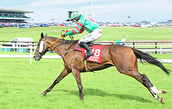 Show and Go ridden by Mark Enright win the Lord Hemphill Memorial Handicap Chase during day seven of the Galway Summer Festival at Galway Racecourse.