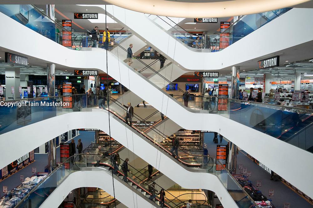 Modern Sevens shopping mall on upmarket Konigsallee in Dusseldorf Germany