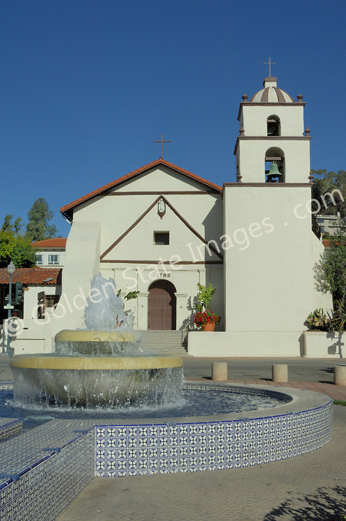 Located in downtown Ventura, between Los Angeles and Santa Barbara, San Buenaventura Mission is the ninth and final mission established by father Junipero Serra in 1782.<br /> <br /> As with many of the California missions, Buenaventura has been heavily damaged by natural disasters such as fire earthquakes and even a tidal wave which struck after a series of earthquakes in 1812. The original structure was destroyed by fire in the early 1790s.