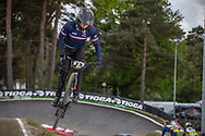 #39 (ANDRE Sylvain) FRA during round 3 of the 2017 UCI BMX  Supercross World Cup in Zolder, Belgium,