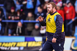 Cardiff Blues' Scott Andrews - Mandatory by-line: Craig Thomas/Replay images - 31/12/2017 - RUGBY - Cardiff Arms Park - Cardiff , Wales - Blues v Scarlets - Guinness Pro 14