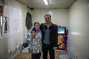 "Mehmet Kershi born 1958 in Djakovica, Kosovo with his wife Bedrie Emini. He is the father of nine daughters and one son.Mr. Kershi fled the war in Kosovo and lives from 1999 in the Konik Camp located in Podgorica. After the fire in 2012 when many inhabitants lost their former housing they received a container in which they live in since then. He has no valid papers such as Passport and Identity Card and is since his arrival in Montenegro unemployed. He partly corporates with the ""Crisis Council of the Association of Displaced Roma and Egyptians from Kosovo in Montenegro"" and belongs to the Egyptians in the community."