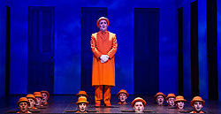 The Magic Flute <br /> Music by Mozart <br /> Welsh National Opera, Wales Millennium Centre, Cardiff, Wales, Great Britain <br /> 13th February 2019 <br /> Directed by Dominic Cooke <br /> <br /> <br /> Photograph by Elliott Franks