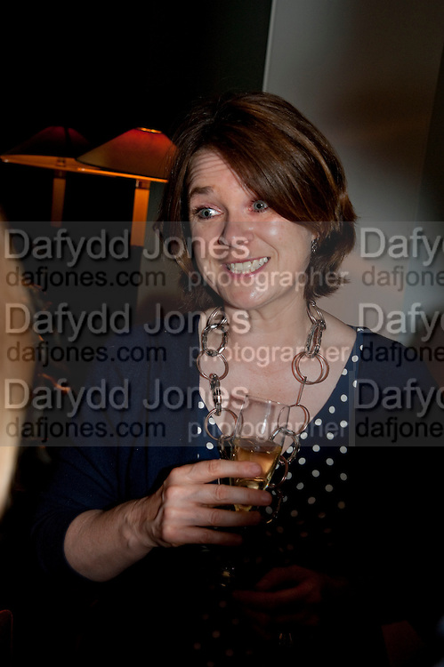 LUCINDA BREDIN, Book party for Janine di Giovanni's Ghosts by Daylight. Blake's Hotel. South Kensington. London. 12 July 2011. <br /> <br />  , -DO NOT ARCHIVE-© Copyright Photograph by Dafydd Jones. 248 Clapham Rd. London SW9 0PZ. Tel 0207 820 0771. www.dafjones.com.