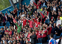 Photo: Jed Wee/Sportsbeat Images.<br /> Carlisle United v Bristol City. Coca Cola League 1. 21/04/2007.<br /> <br /> Bristol City fans.
