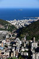aerial view of botafogo in rio de janeiro brazil