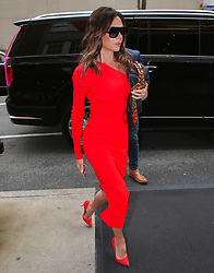 Victoria Beckham arriving at her hotel in The Upper East Side, New York on October 13, 2021. Photo by Dylan Travis/ABACAPRESS.COM