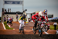 #210 (CHRISTENSEN Simone Tetsche) DEN [Wiawis, Odum, Avian] at Round 7 of the 2019 UCI BMX Supercross World Cup in Rock Hill, USA