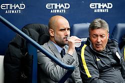 Manchester City manager Josep Guardiola - Mandatory by-line: Matt McNulty/JMP - 13/05/2017 - FOOTBALL - Etihad Stadium - Manchester, England - Manchester City v Leicester City - Premier League