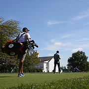 Jordan Spieth, USA, walks up the first hole during The Barclays Golf Tournament at The Plainfield Country Club, Edison, New Jersey, USA. 27th August 2015. Photo Tim Clayton