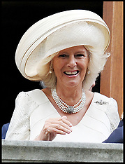 Prince Charles and Duchess of Cornwall attend Battle of Britain Service 16-9-12