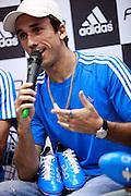 Belo Horizonte_MG, Brasil...Retrato do jogador do Cruzeiro Thiago Ribeiro em Belo Horizonte, Minas Gerais...The portrait of the Cruzeiro soccer player Thiago Ribeiro in Belo Horizonte, Minas Gerais...Foto: BRUNO MAGALHAES / NITRO....