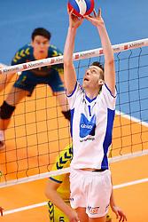 20150426 NED: Eredivisie Landstede Volleybal - Abiant Lycurgus, Zwolle<br />Steffan Hebbink (1) of Abiant Lycurgus<br />©2015-FotoHoogendoorn.nl / Pim Waslander