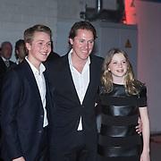 NLD/Amsterdam/20140303 - Uitreiking TV Beelden 2014, Jeroen Rietbergen, Noah Vahle,  Julian Vahle