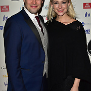 Arriver at the 18th Annual WhatsOnStage Awards 2018 at Prince of Wales Theatre on 25 Feb 2018, London, UK