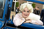 Perspresentatie musical Charley in de Sofitel Legend The Grand Amsterdam.<br /> <br /> Op de foto:  Vera Mann