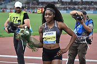 Elaine THOMPSON JAM 100m women Winner <br /> Roma 03-06-2016 Stadio Olimpico <br /> IAAF Diamond League Golden Gala <br /> Atletica Leggera<br /> Foto Andrea Staccioli / Insidefoto