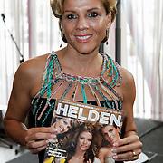 NLD/Ridderkerk/20120628 - Presentatie blad Helden 14, Leontien Zijlaard - van Moorsel