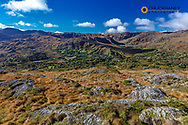The Caha Mountains on the Beara Peninsula, County Kerry, Ireland