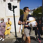Street life in Lisbon