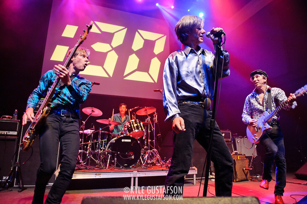 Washington, D.C. - May 31, 2010:  The Fleshtones perform at the 30th Anniversary concert at the legendary 9:30 Club. (Photo by Kyle Gustafson/For The Washington Post)