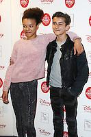 India Ria Amarteifio & Georgie Farmer, Disney Store VIP Christmas Party, The Disney Store Oxford Street, London UK, 03 November 2015, Photo by Brett D. Cove