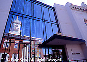 PA Historic Places, Franklin Co. Courthouse, City Square, Window Reflection, Chamber of Commerce, Chambersburg, PA