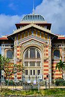 France, Martinique, Fort-de-France, centre ville, bibliothèque Schoelcher par l'architecte Pierre-Henri Picq en 1890 // France, West Indies, Martinique, Fort-de-France, Bibliotheque Schoelcher (library)
