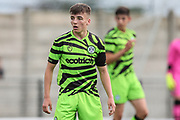 during the Pre-Season Friendly match between Cirencester Academy and Forest Green Rovers at Cotswold Academy, Cirencester, United Kingdom on 30 July 2019.