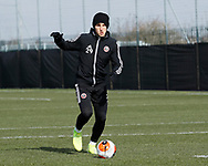 Panos Retsos of Sheffield Utd during a training session at the Steelphalt Academy, Sheffield. Picture date: 5th March 2020. Picture credit should read: Simon Bellis/Sportimage