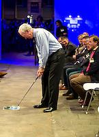 UTRECHT -  NGF voorzitter Ronald Pfeiffer.  , A tribe called Golf, de kracht van de connectie. Nationaal Golf Congres van de NVG 2014 , Nederlandse Vereniging Golfbranche. COPYRIGHT KOEN SUYK