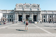 Milan, Piazza Duca D'Aosta and the Central Station