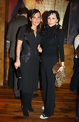 Left to right, ELLA KRASNER and MARIE HELVIN at the opening party of Pengelley's, 164 Sloane Street, London SW1 on 22nd February 2005.<br /><br />NON EXCLUSIVE - WORLD RIGHTS