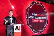 AsianInvestor Asset Management Awards 2018 in The Ritz-Carlton Hotel, Hong Kong, China, on 31 May 2018. Photo by King Chung Fung/Studio EAST