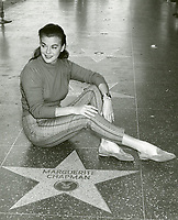 1961 Marguerite Chapman's Walk of Fame ceremony
