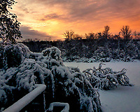 Sunrise ten days post Hurricane Sandy. Image taken with a Leica V-Lux 30 camera (ISO 160, 4.3 mm, f/3.3, 1/60 sec).