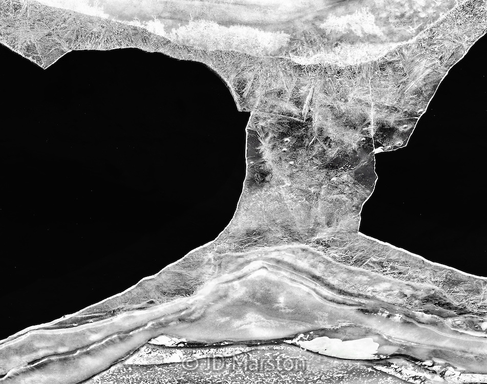 Ice Abstraction, Moffat, Colorado