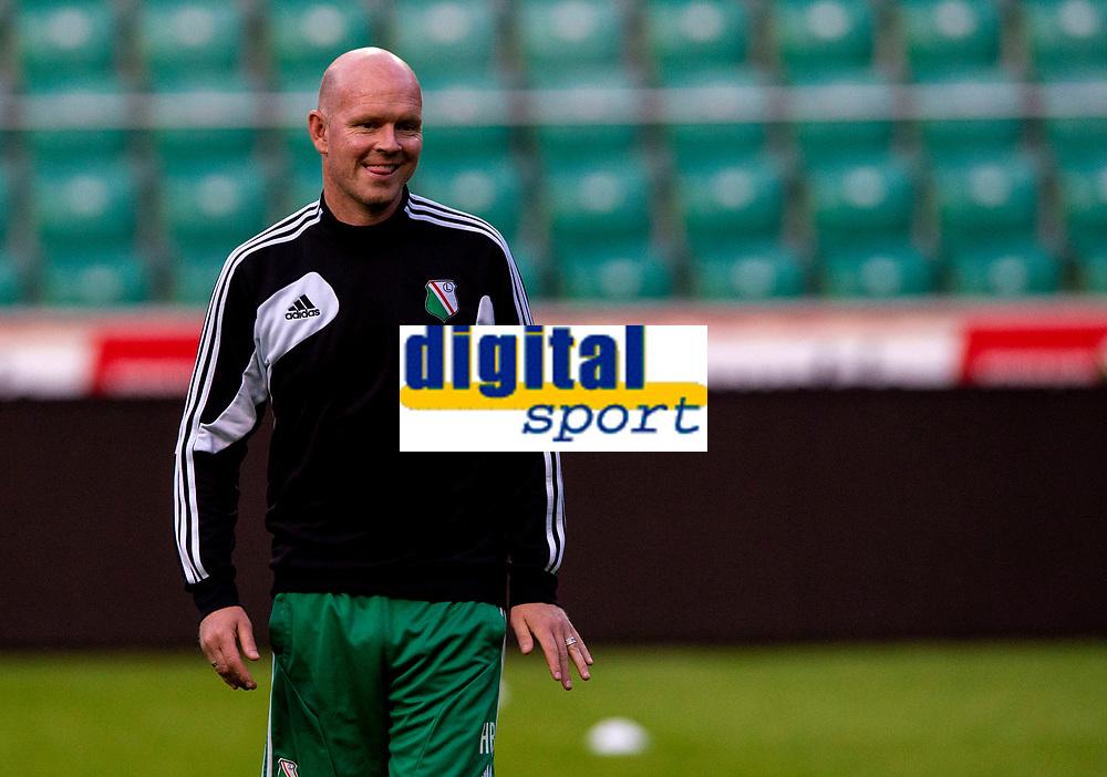 29/07/14<br /> LEGIA WARSAW TRAINING<br /> PEPSI ARENA - WARSAW<br /> Legia Warsaw manager Henning Berg at training