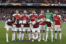Arsenal v Valencia - 02 May 2019