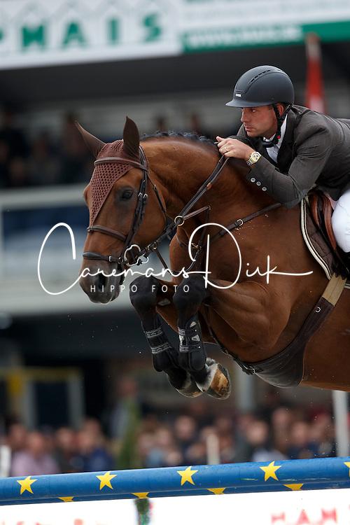 Lambrecht Vincent, (BEL), Clearstay<br /> Belgisch Kampioenschap - Lanaken 2015<br /> © Hippo Foto - Dirk Caremans<br /> 19/09/15