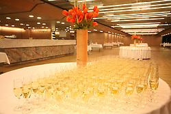 Wine at reception.  (Photo by Vid Ponikvar / Sportal Images)/ Sportida)