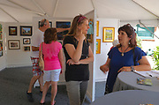 Participants, Plein Aire art competition, West Reading Art Fest, Berks Co., PA